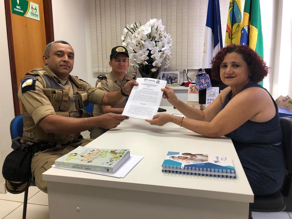 8º BPM retorna as atividades do Proerd em Paraíso do Tocantins