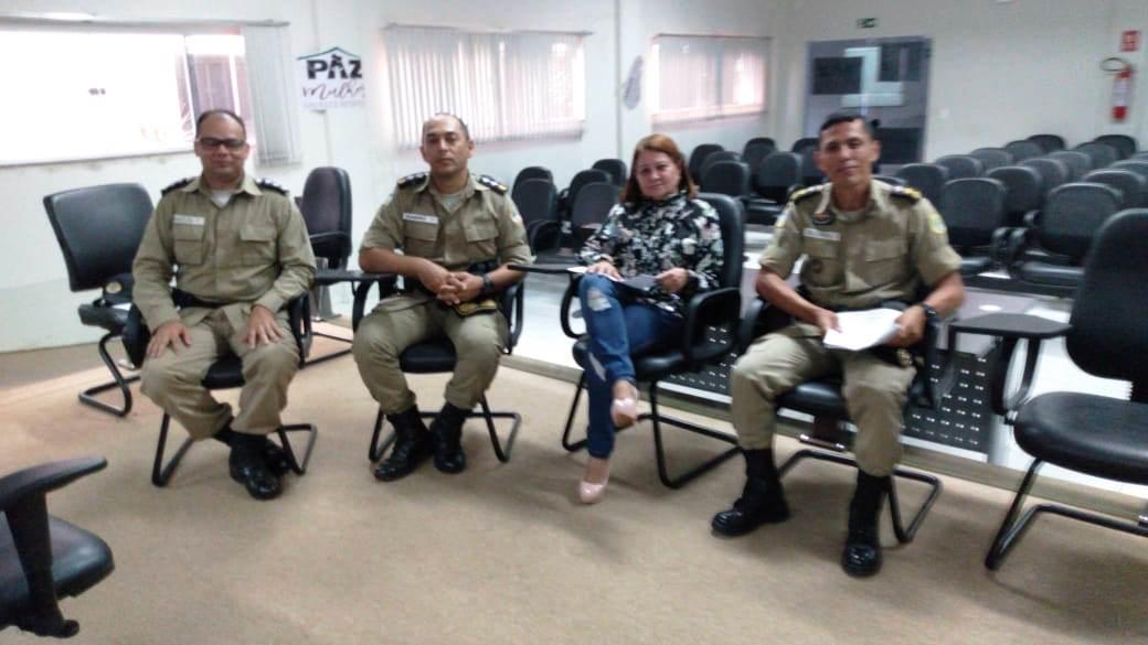 Polícia Militar e Judiciário se reúnem a fim de tratar da implantação de confecção do TCO feito pela PM na comarca de Araguatins