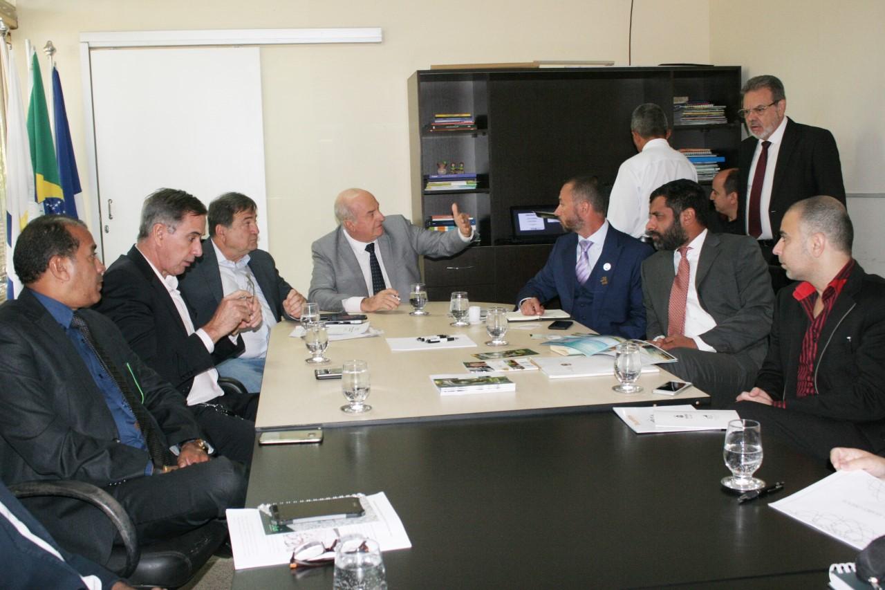 Indústria e Comércio recebe investidores dos Emirados Árabes interessados em consolidar negócios no TO