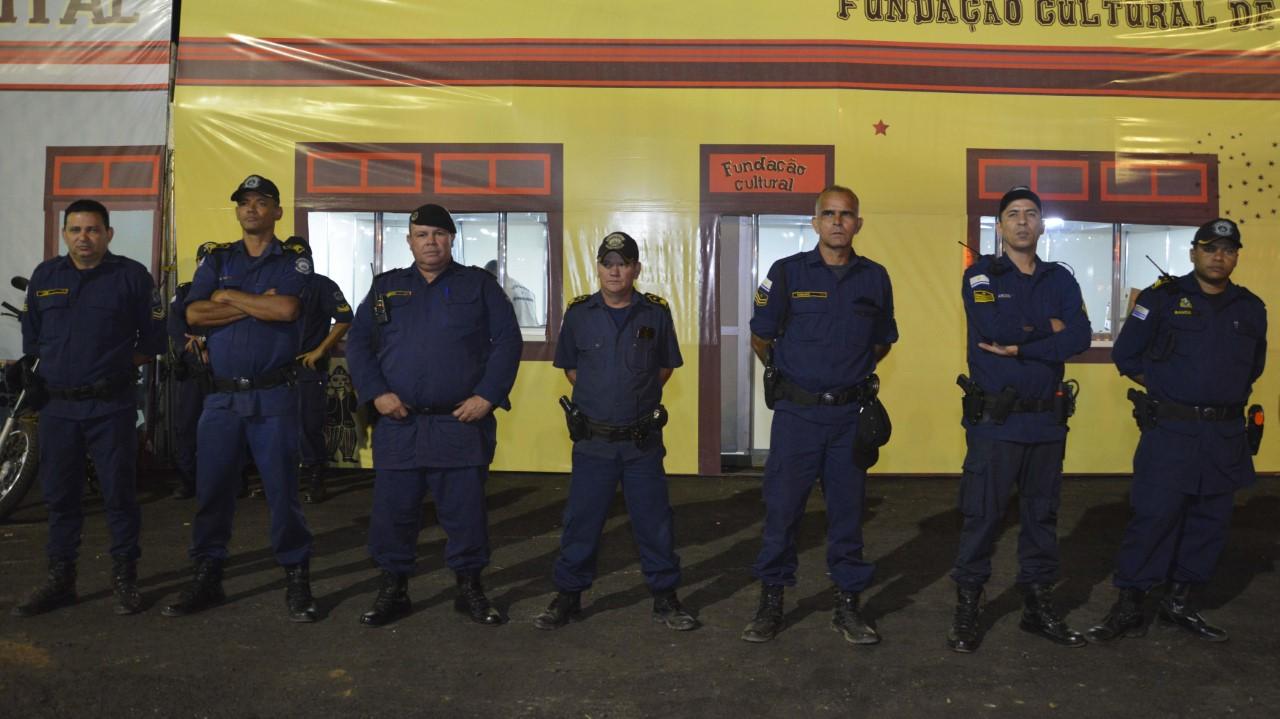 Forças de segurança trabalham em conjunto e garantem Arraiá da Capital sem ocorrências