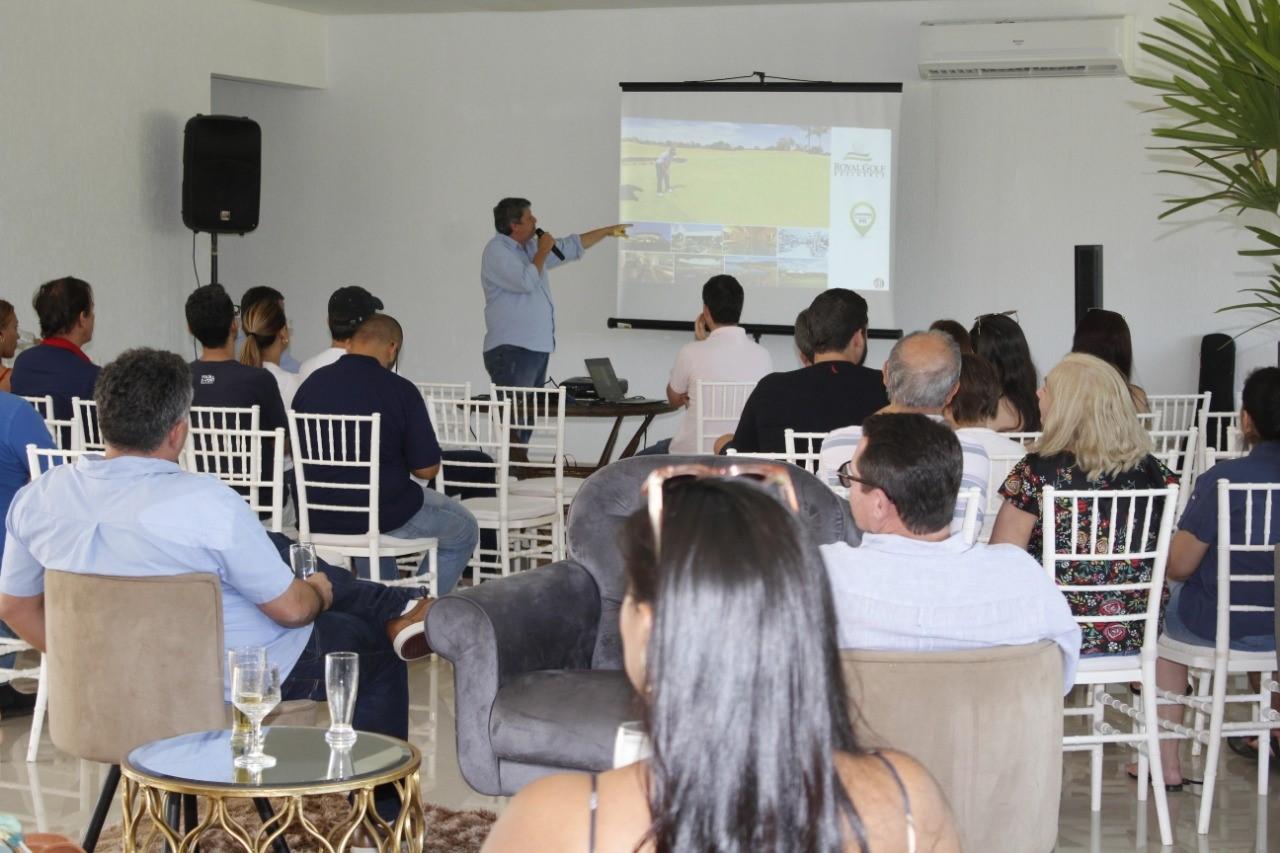 Empresários tocantinenses visitam o Costa Dourada em busca de novidades no ramo imobiliário