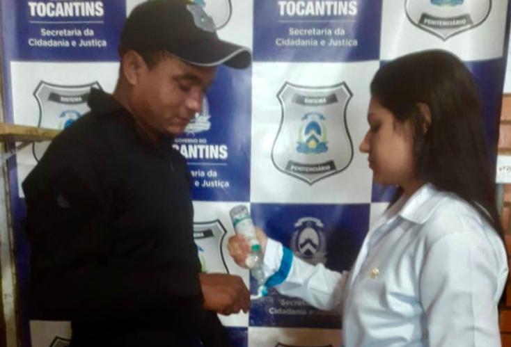Ação em saúde bucal é realizada na Cadeia Pública de Arapoema