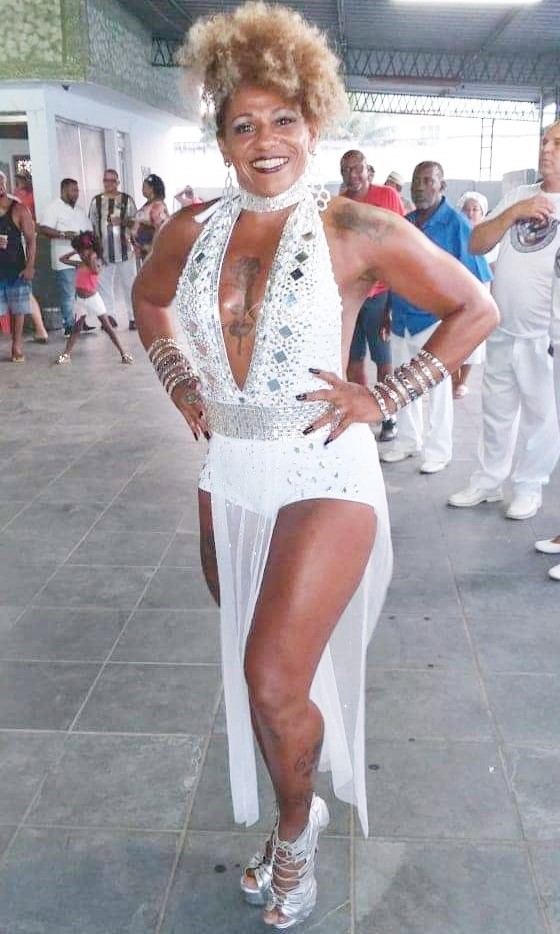 Sol Morena é a nova coordenadora da ala de Passistas da Vila Santa Tereza