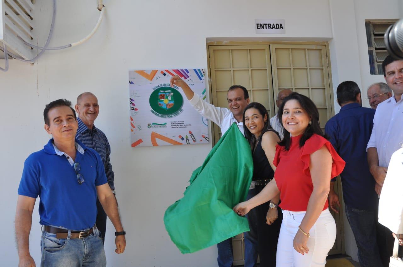 Prefeito Joaquim Maia inaugura Escola de Gestão Pública visando capacitação e melhor qualificação de servidores
