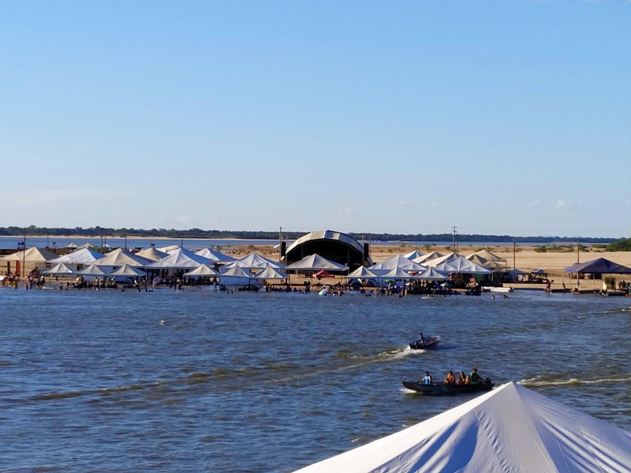 Abertura da temporada 2019 da Praia da Gaivota atrai turistas para Araguacema