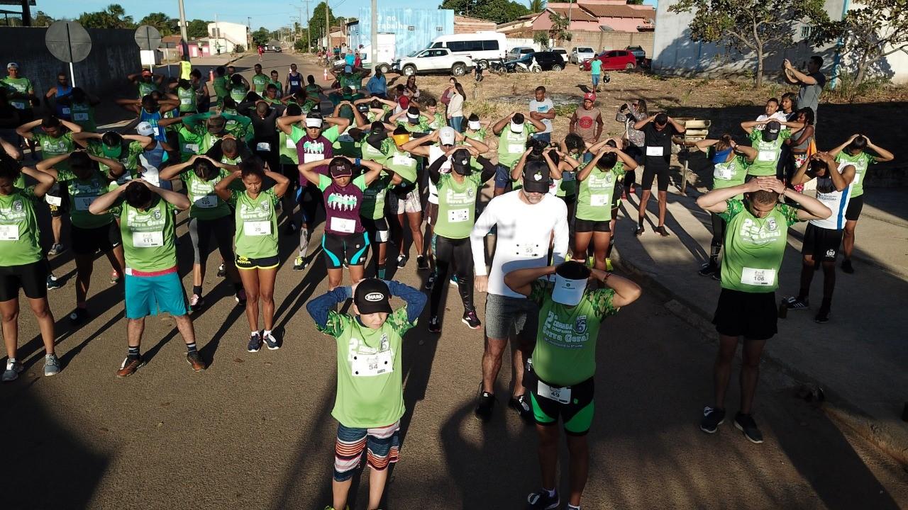 Centenas de atletas foram às ruas na 2° edição da Corrida Companhia Serra Geral em Dianópolis
