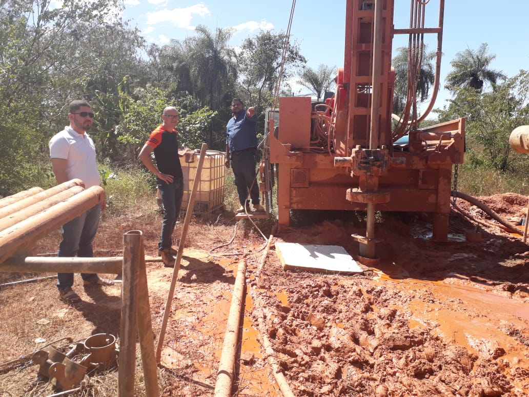 Prefeitura de Dianópolis inicia perfuração de mais um poço artesiano na zona rural