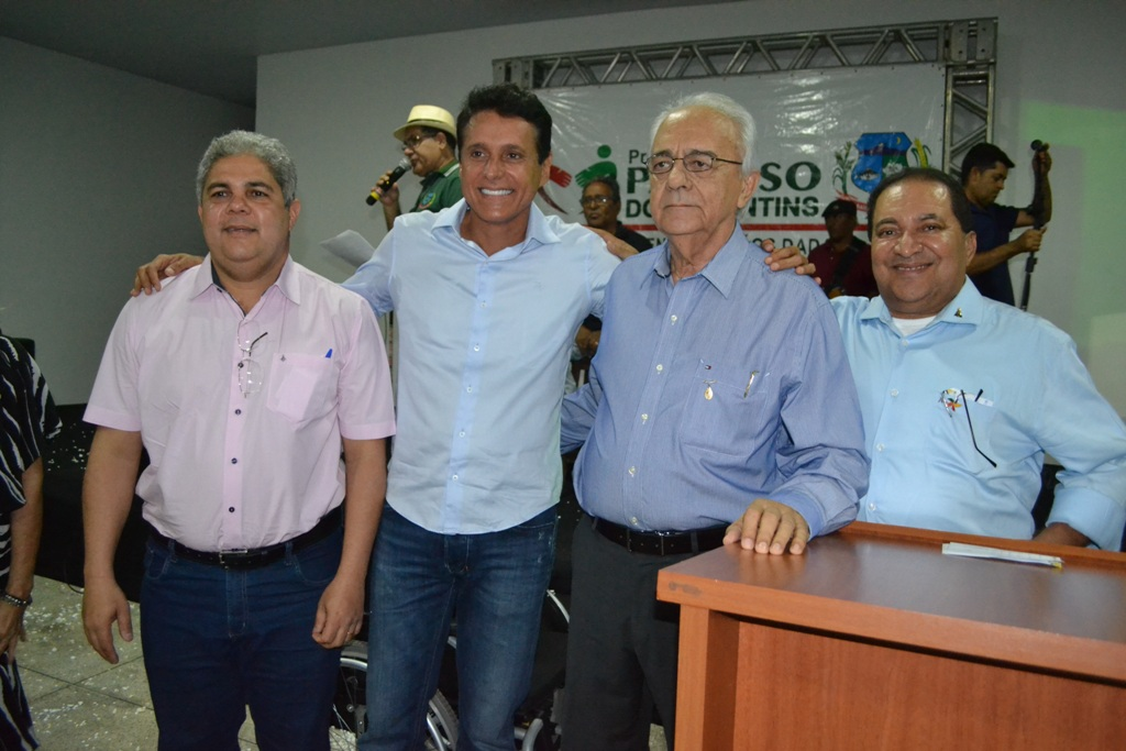 Nilton Franco participa de inauguração de centro de idosos em Paraíso