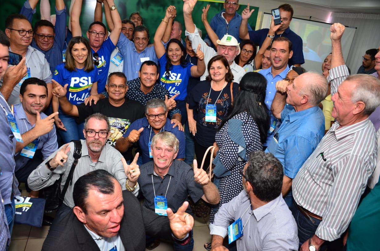 1º Encontro Estadual de Filiação do PSL reúne mais de 500 lideranças de todas as regiões do Estado