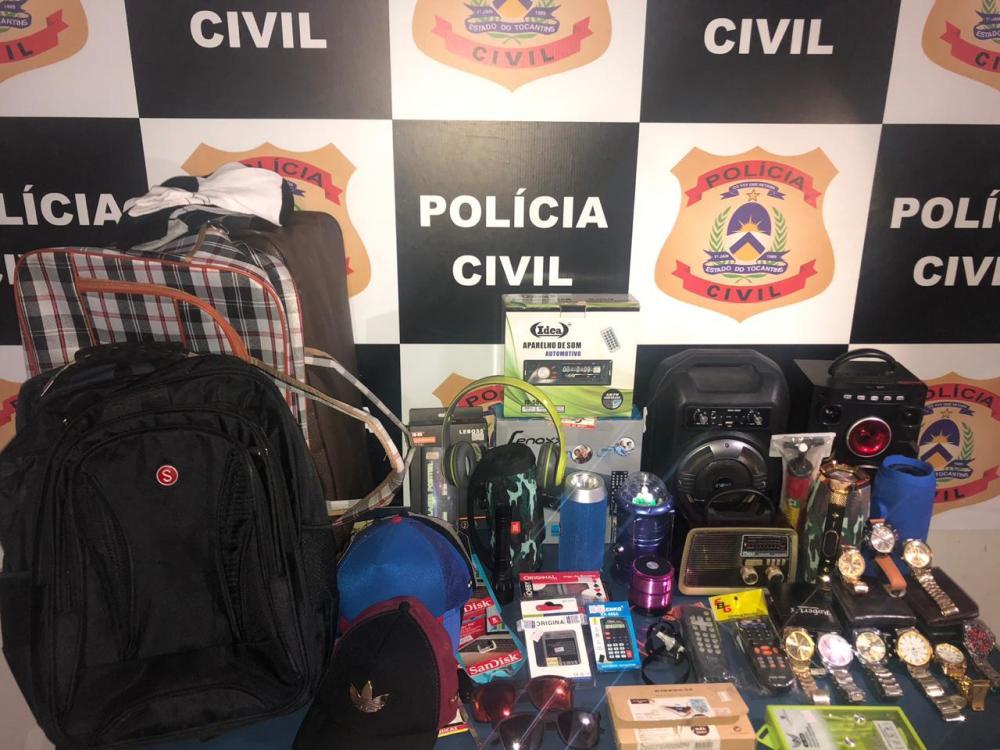Polícia Civil elucida furto a comércio e prende autores do crime em Cristalândia
