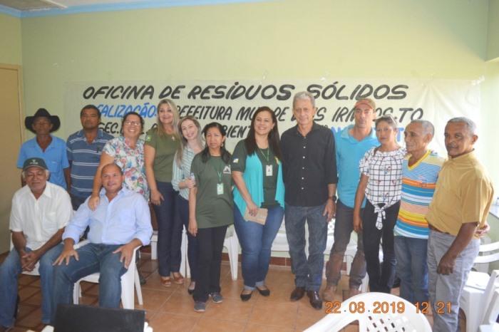 Prefeitura de Dois Irmãos e Naturatins realizam Oficina de Resíduos Sólidos