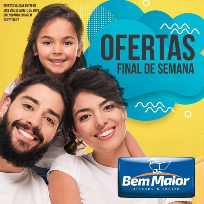 Supermercado Bem Maior anuncia ofertas para este final de semana em Paraíso