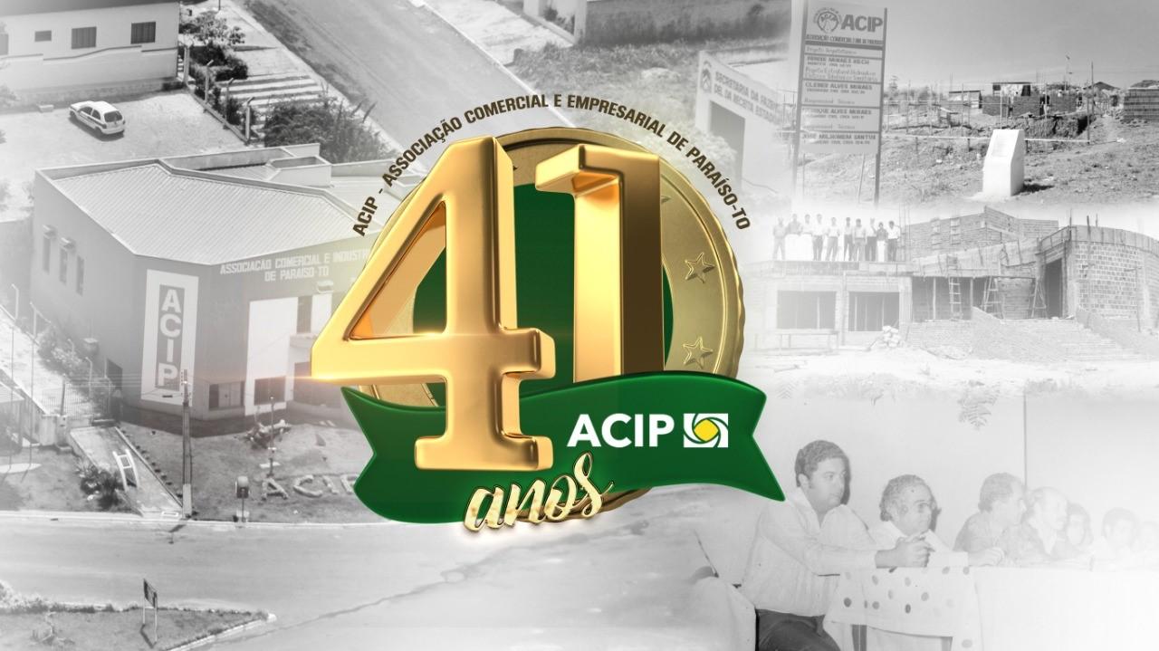 Presidente Juliana Martins parabeniza empresários e associados da ACIP pelos 41 anos da entidade