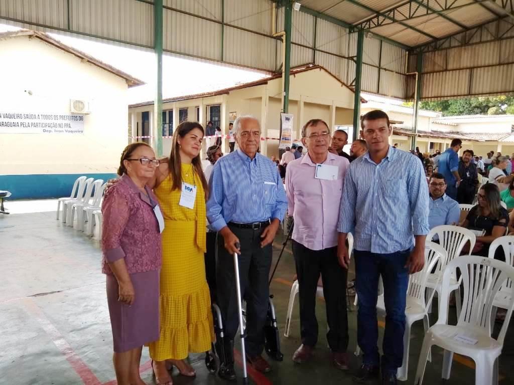 Prefeito de Marianópolis participa de consulta pública para elaboração do PPA 2020-2023 do Tocantins