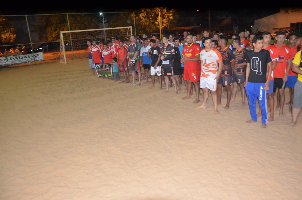 Segunda edição da Liga Paraíso de Beach Soccer tem início com a participação de 34 times