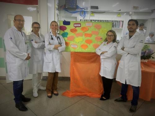 Ação no HDT-UFT reforça o compromisso dos profissionais com a segurança do paciente