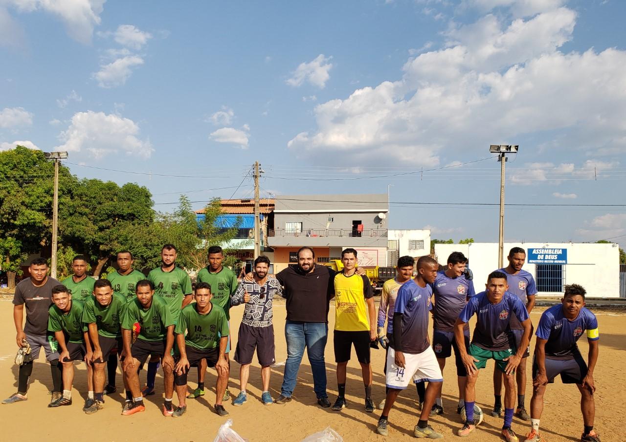MDB Jovem apoia torneio de futebol solidário que irá beneficiar famílias na região Norte de Palmas
