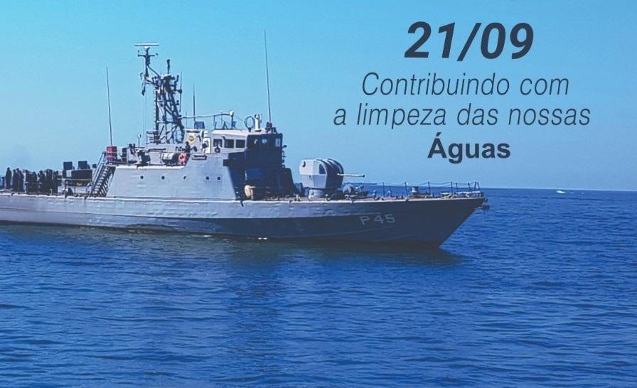 Marinha do Brasil coordenará o Dia Mundial da Limpeza nos Rios e Lagos do Tocantins