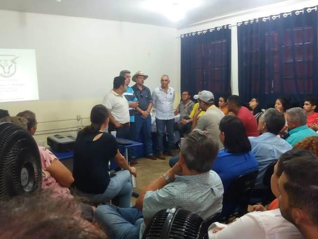 Prefeitura de Barrolândia promove palestra sobre engorda de ovinos na dieta de alto grão