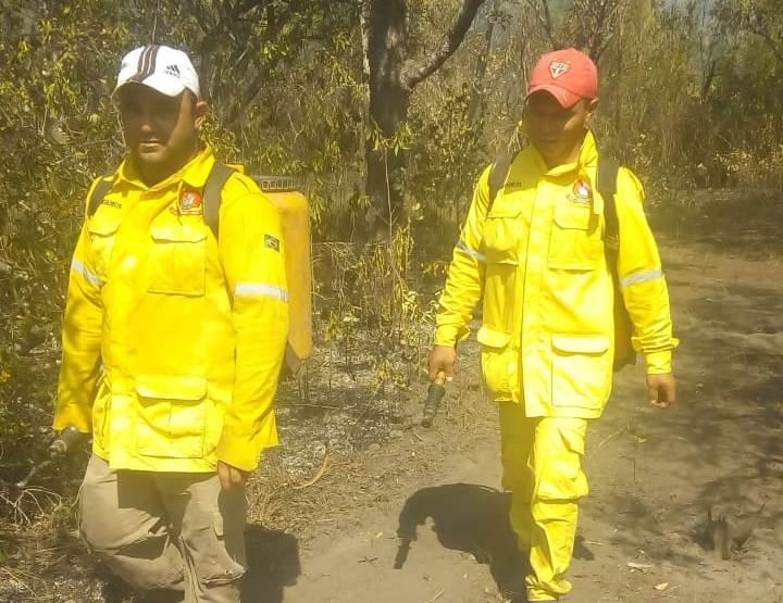 Prefeitura de Pium parabeniza brigadistas pelo trabalho de combate às queimadas