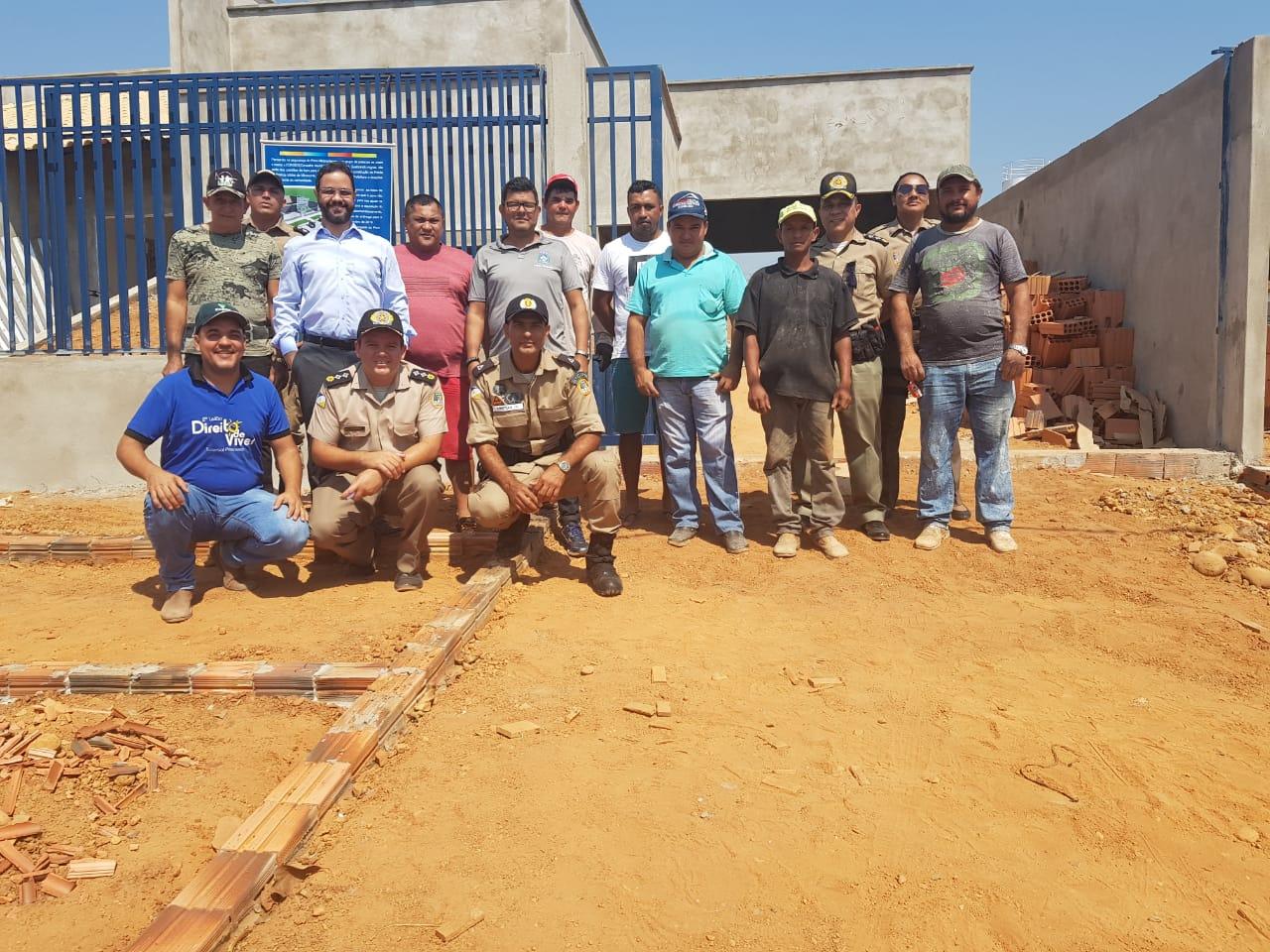 Judiciário, Polícia Militar e comunidade juntos na construção de mais segurança em Miranorte