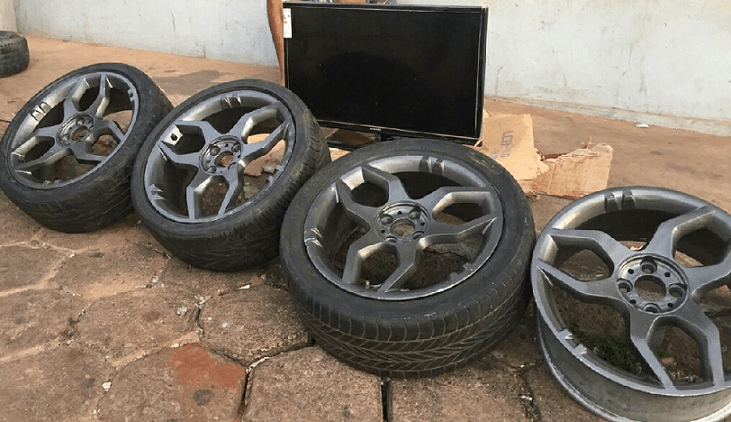 Polícia Militar prende homem por receptação, recupera TV furtada e apreende outros produtos de origem duvidosa em Araguaína