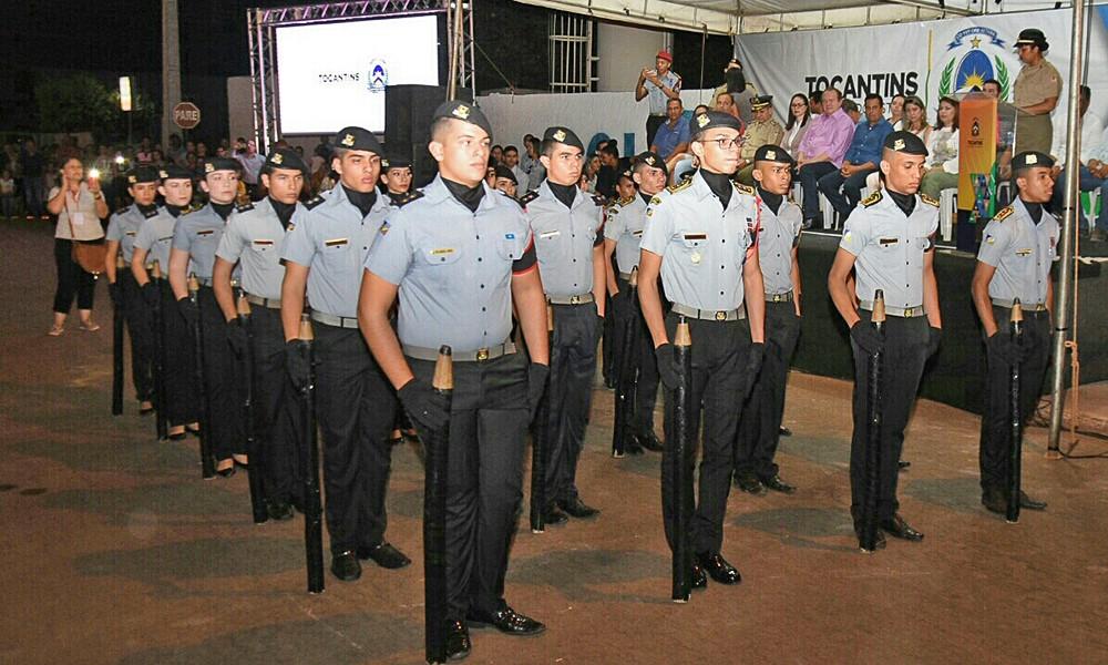 Após lançar o Colégio Militar em Palmeirópolis, Governador Carlesse garante implantação de mais 33 unidades no Tocantins