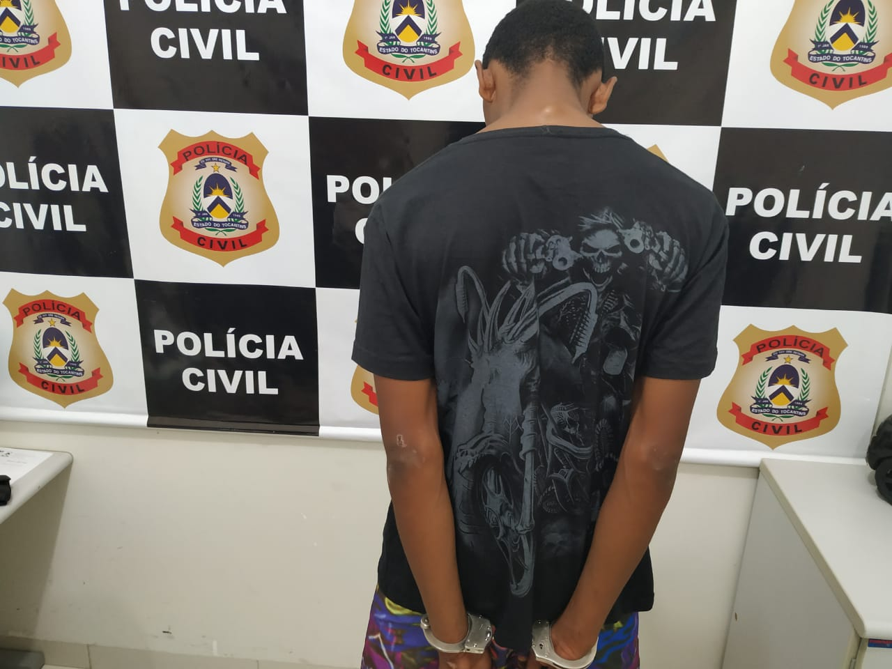 Polícia Civil elucida roubo de veículo e prende principal suspeito do crime em Lagoa da Confusão