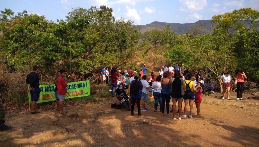 Voluntários fazem ato no entorno de rios que abastecem Palmas e pedem proteção às nascentes