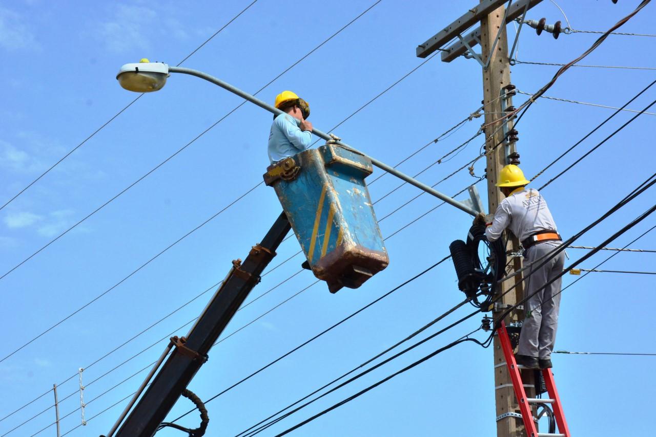 Confira programação de reparos e novas instalações na rede de iluminação pública em Palmas