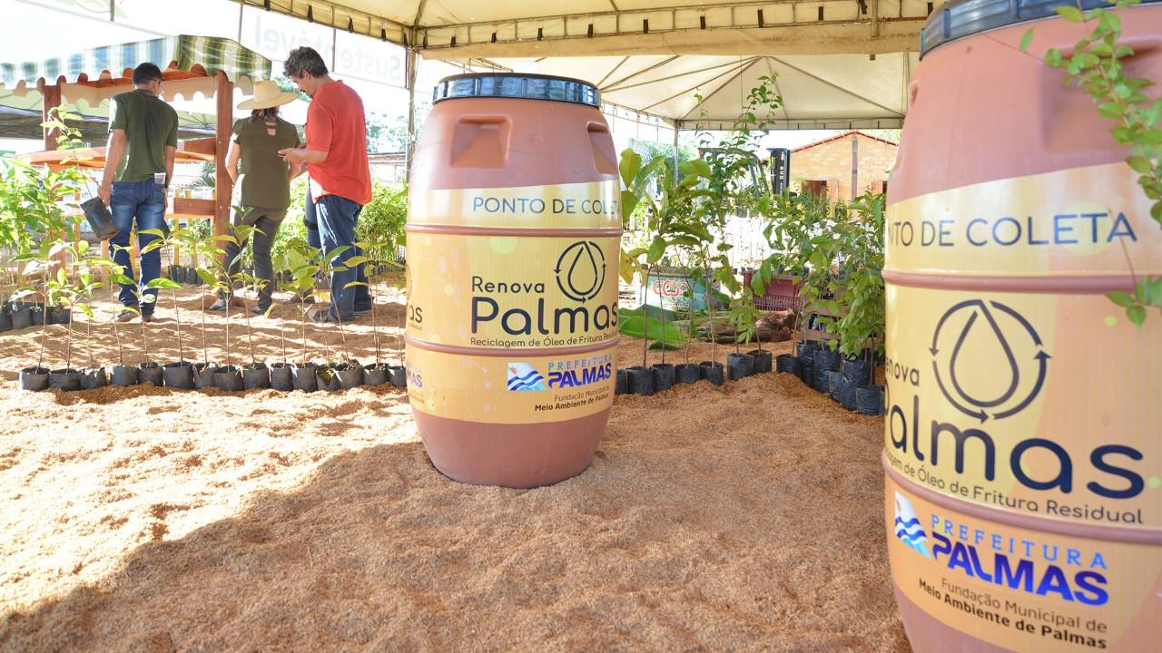 Fundação de Meio Ambiente vai receber doação de óleo de alunos da Escola Videira