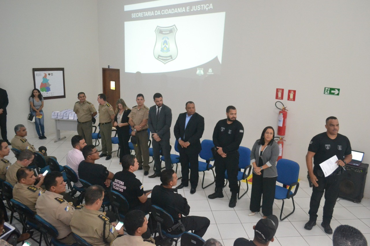 Forças de segurança participam de reunião geral para fortalecimento do Sistema Penitenciário e Prisional