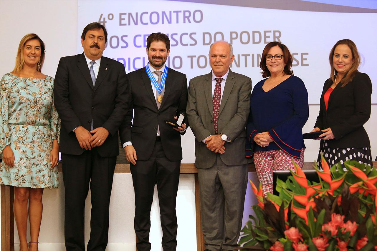 Conselheiro do CNJ, Henrique Ávila diz em seminário do TJTO que vários conflitos são melhor solucionados com a ajuda de um mediador/conciliador