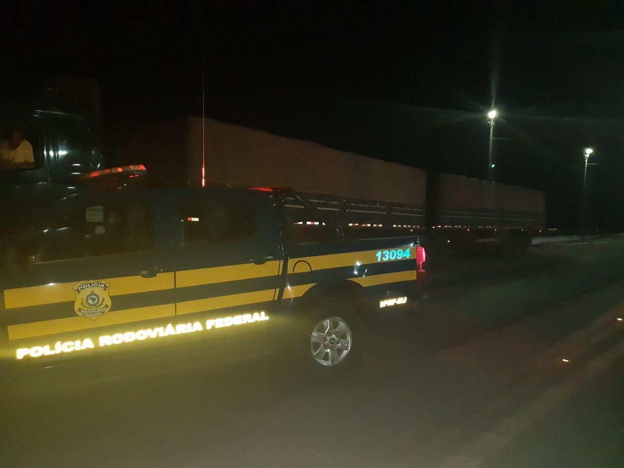 Condutor é detido em fiscalização da PRF Araguaína por adulteração de veículo