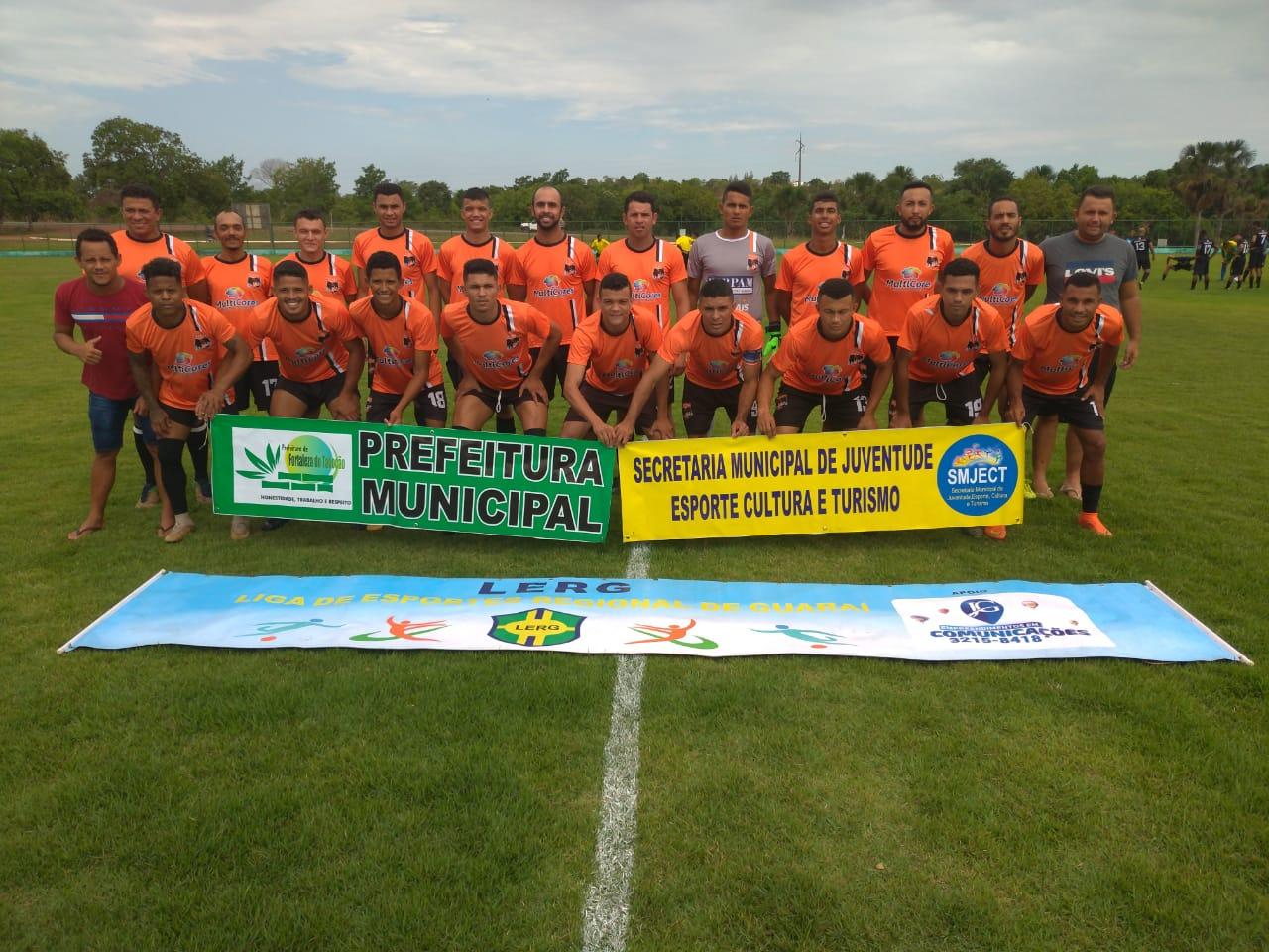 Equipe de Dois Irmãos está na final da Copa Regional de Futebol de Guaraí 2019; decisão será no dia 12 de outubro
