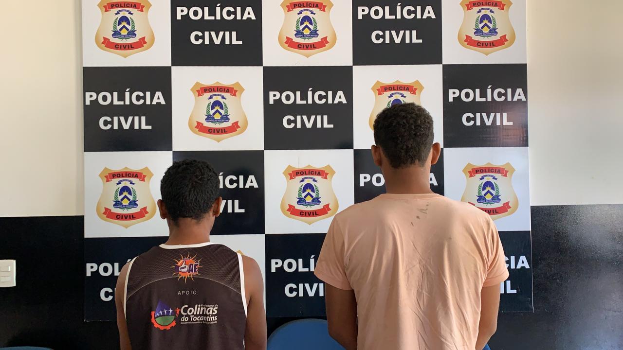 Polícia Civil prende dois homens que comercializavam entorpecentes na zona rural de Caseara