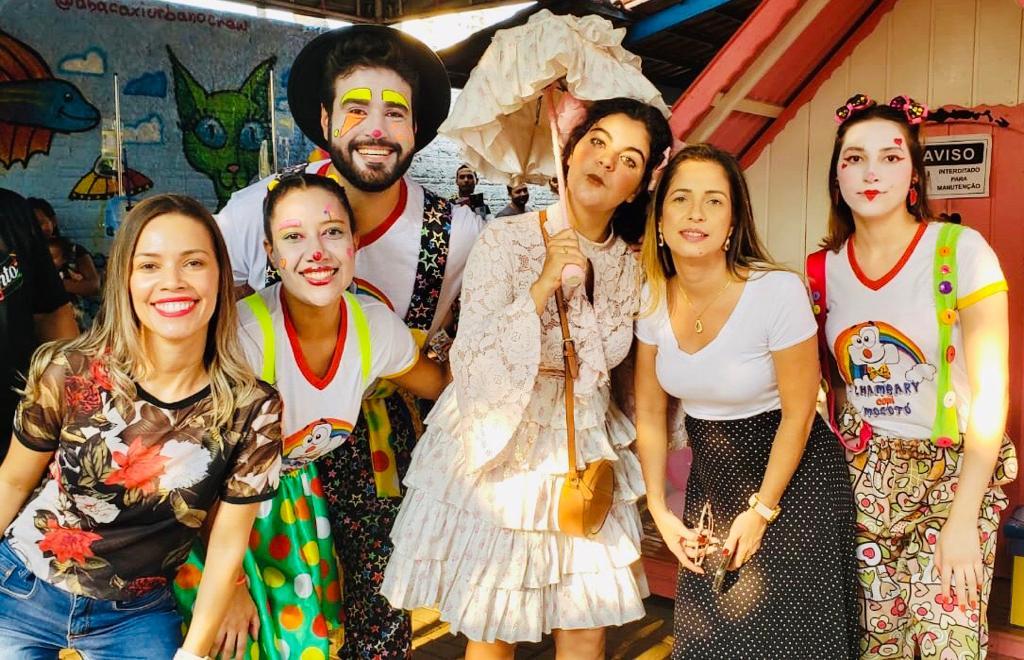 Música e circo alegram pacientes do Hospital Infantil de Palmas