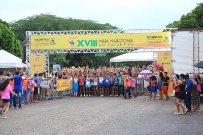 Ponte de Palmas tem tráfego interrompido para realização da Meia Maratona do Tocantins no domingo, 13