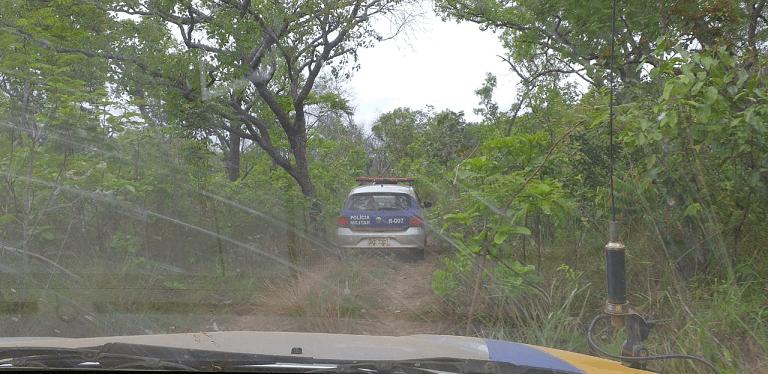 Polícia Militar detém quatro homens por invadir fazenda na zona rural de Babaçulândia