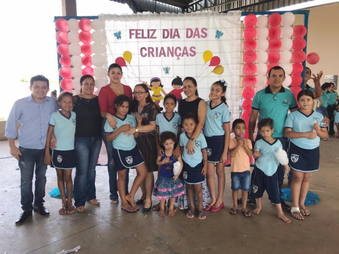 Prefeitura de Chapada de Areia realiza festa em comemoração ao Dia da Criança