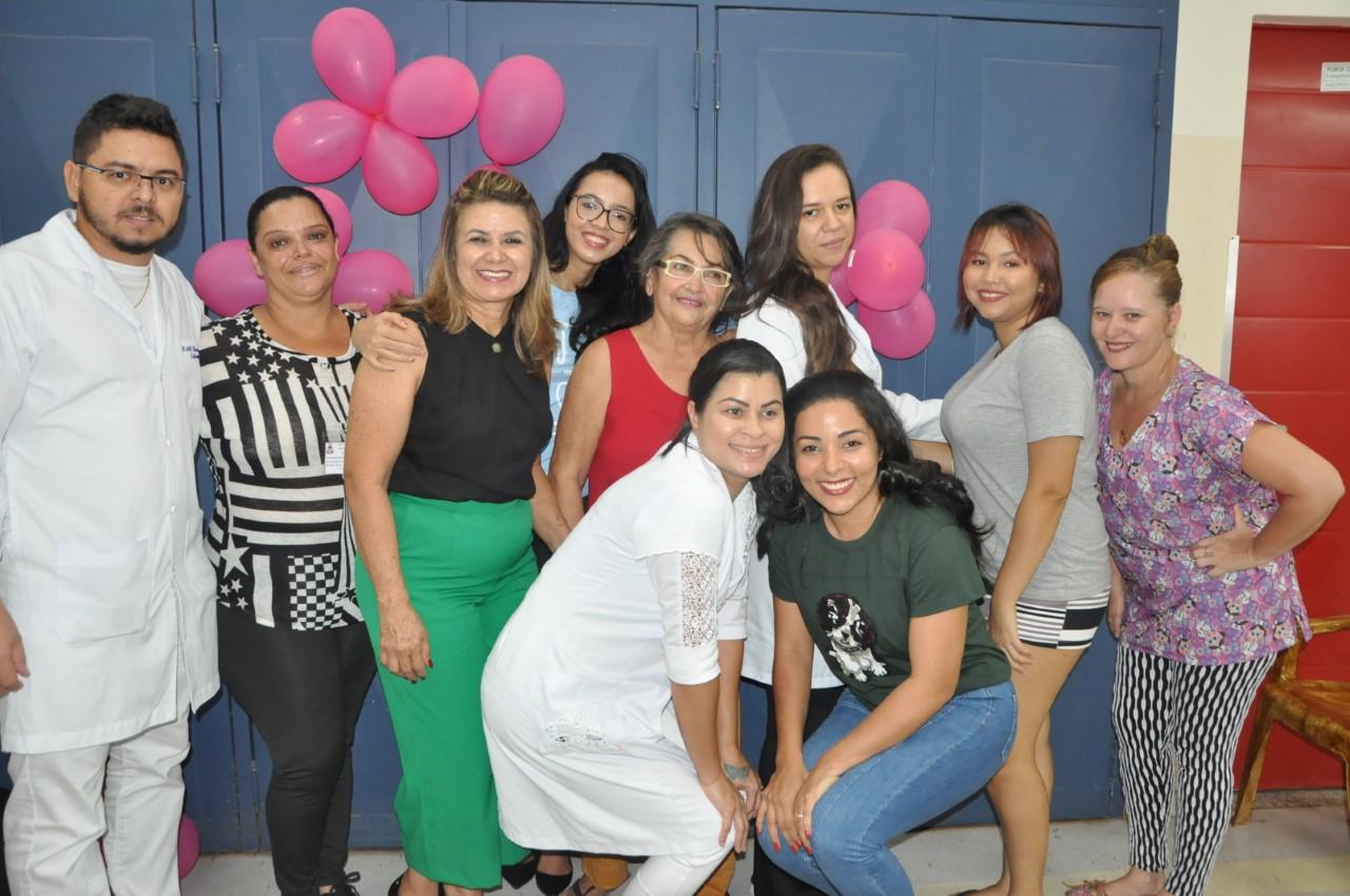 Voluntárias levam alegria e autoestima às pacientes da Oncologia do HGP
