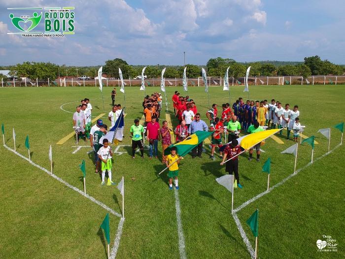 Segunda rodada do Campeonato Municipal de Futebol de Rio dos Bois acontece neste sábado, 26
