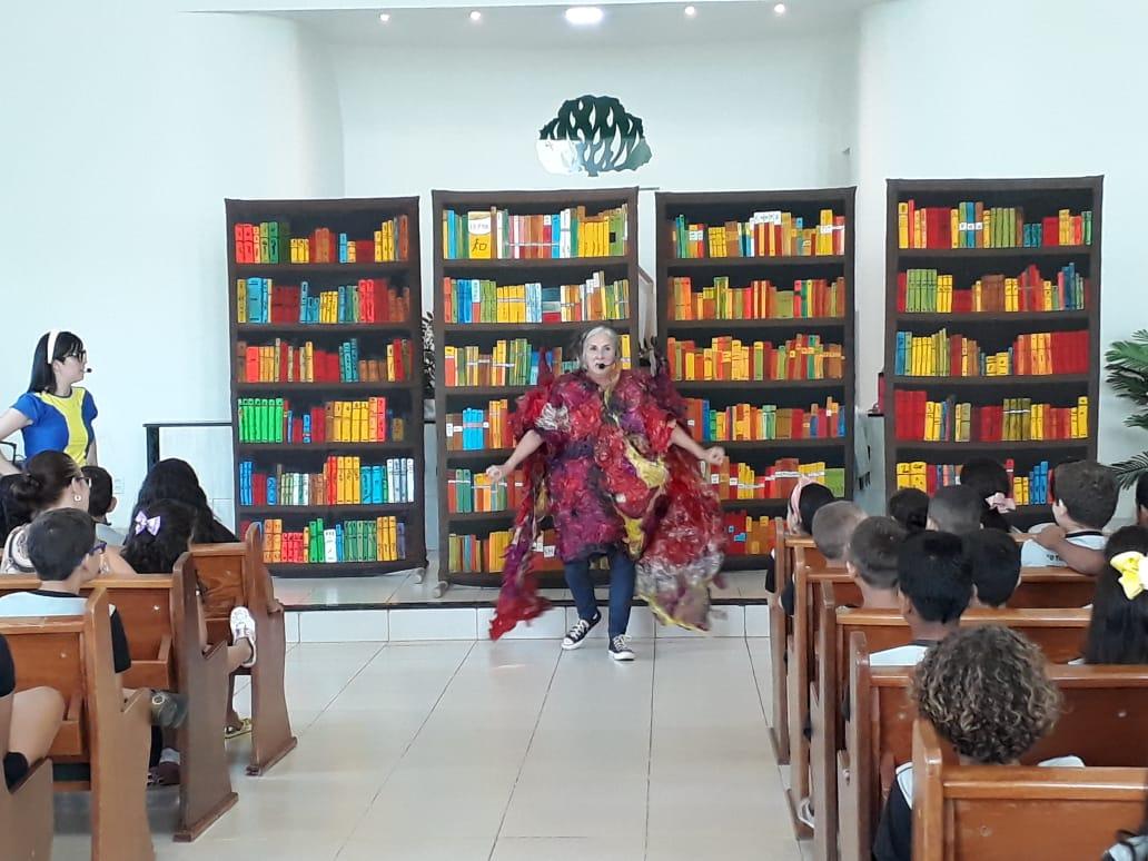 """Espetáculo """"Tem um Rio na Biblioteca"""" passa por Gurupi e chega à Dianópolis nesta quinta (24)"""