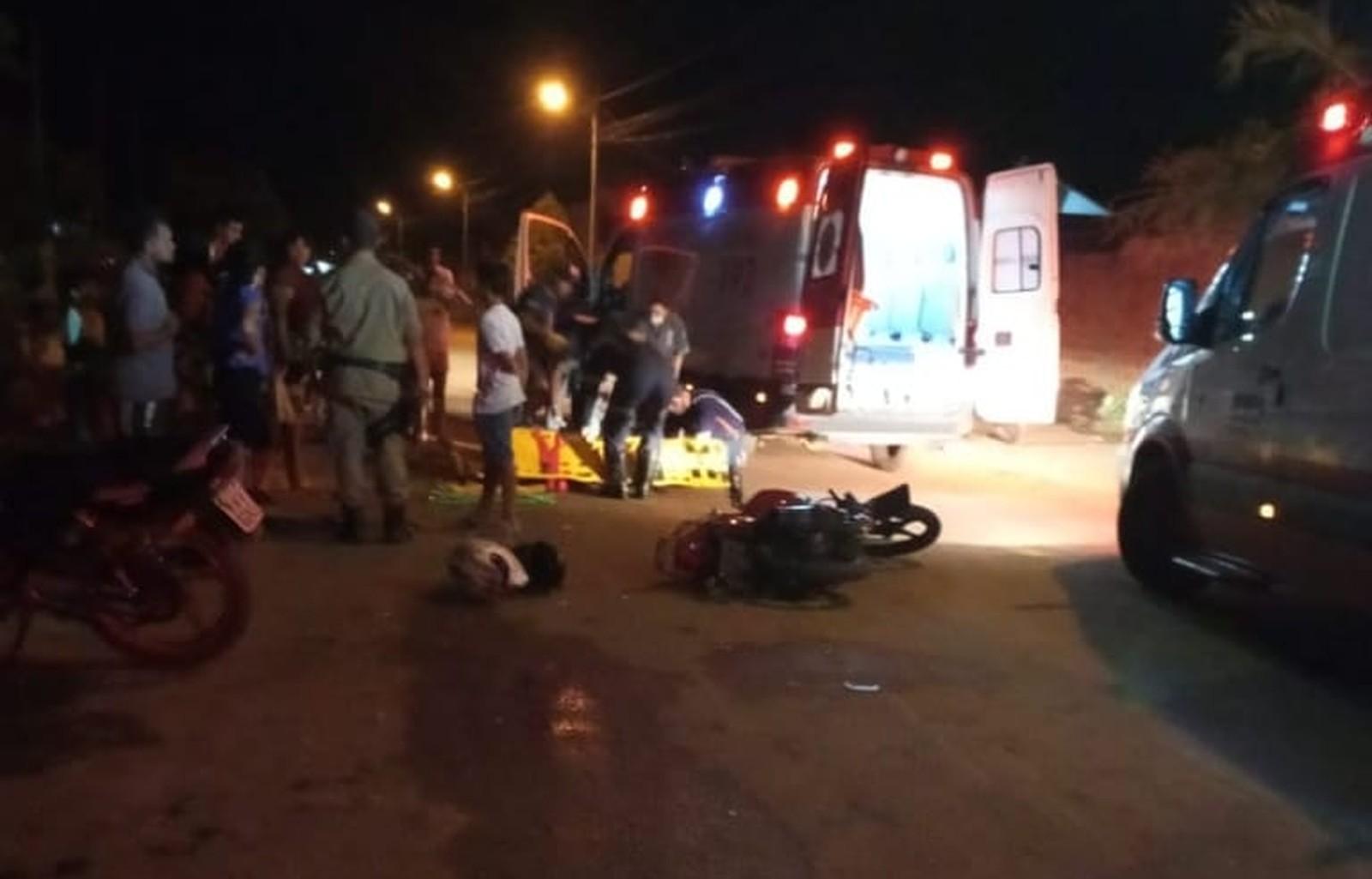 Jovem fica em estado grave após ser atropelada por motocicleta em Gurupi