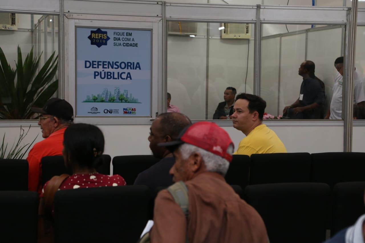 Defensoria Pública inicia atendimentos jurídicos no Mutirão de Negociações Fiscais