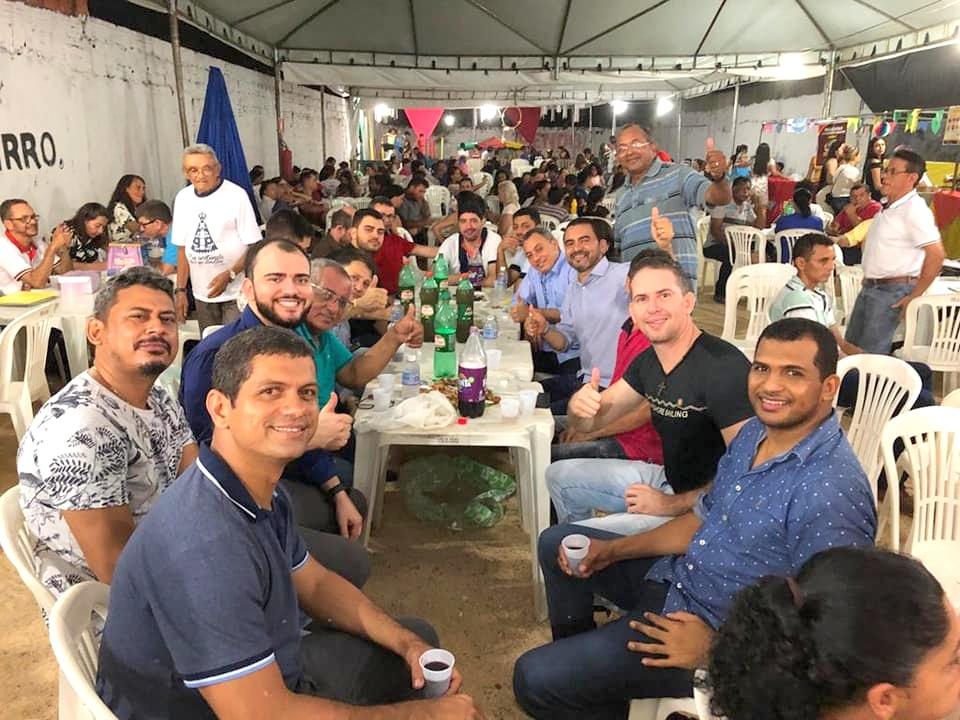 Wanderlei Barbosa participa do Festejo de Nossa Senhora Aparecida, em Taquaralto