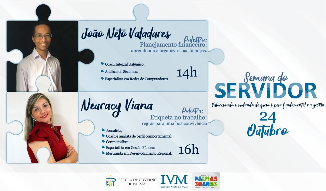 Planejamento financeiro e etiqueta no trabalho são assuntos de palestras nesta quinta-feira, 24 em Palmas