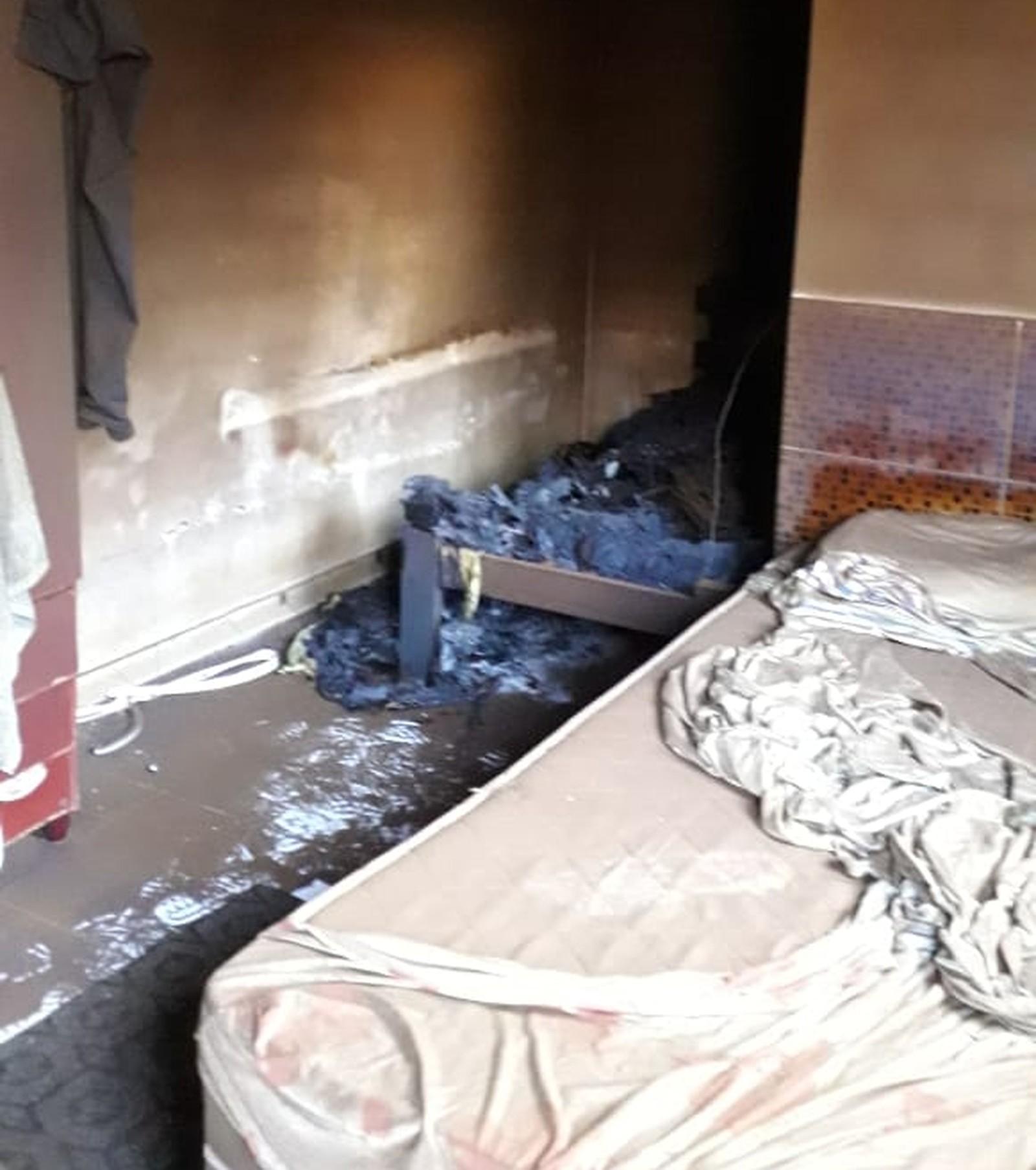 Em Gurupi, homem é encontrado morto após colchões pegarem fogo em quarto