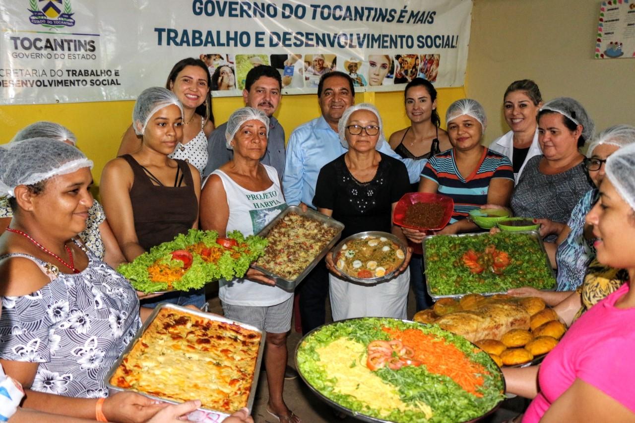 Moradores de Barrolândia recebem capacitação do Governo, por meio da Setas, nesta terça-feira