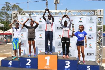 Atletas quenianos são vencedores da 19ª Meia Maratona do Tocantins